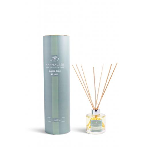 Tuscan Lime & Basil Reed Diffuser By Marmalade