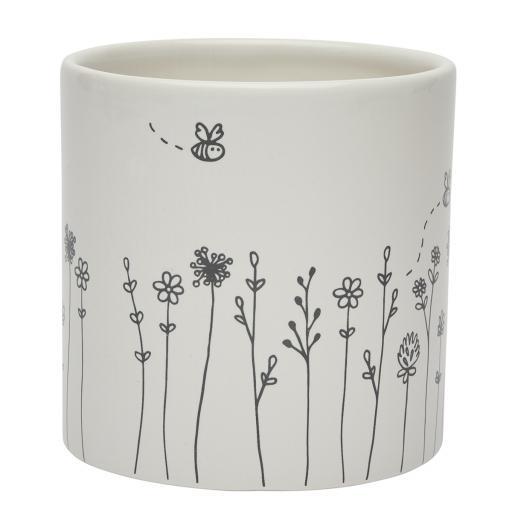 Bud & Bloom Ceramic Small Planter.