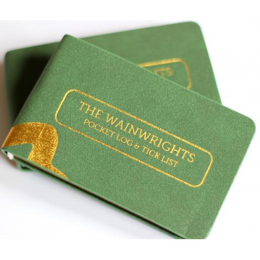 Wainwrights Pocket Log & Tick List
