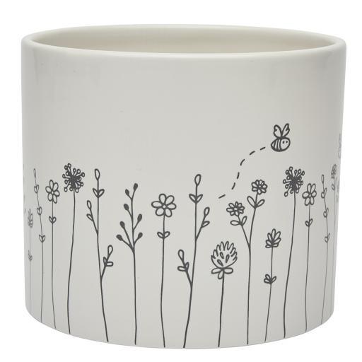 Bud & Bloom Ceramic Large Planter.