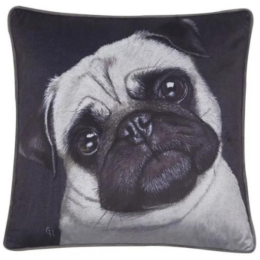 Lulu Pug Dog Cushion