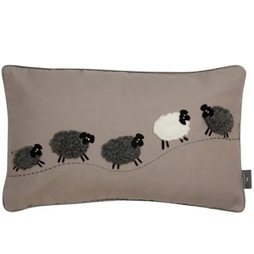 3D Woolly Sheep Cushion