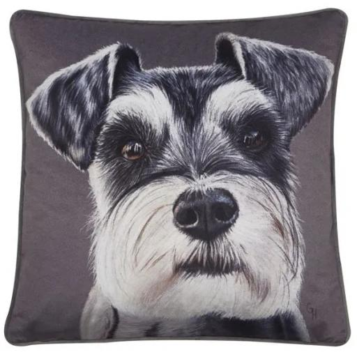 Benny Schnauzer Dog Cushion