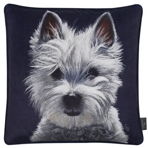 Harry Westie Dog Cushion
